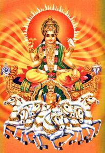 Surya, Hindu Sun God